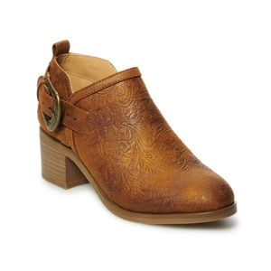 Buckle ankle boots 🛍BNIB
